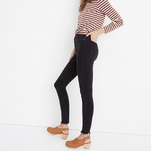 "Madewell 10"" High-Rise Skinny Jeans Button-Fly"
